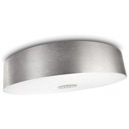 Aanbieding Philips Ecomoods 403404816 Fair aluminium plafondlamp