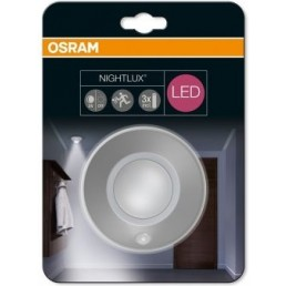 Osram Nightlux plafond nachtlampje met sensor zilvergrijs