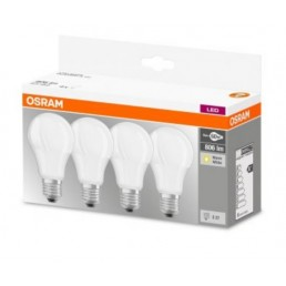 Osram LED Base A60 E27 9W 2700K 4-pack