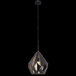 Actie 49254 Eglo Carlton 1 Vintage hanglamp