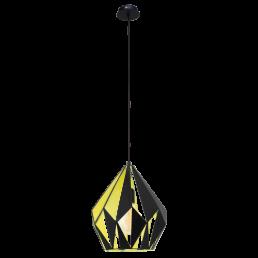 49256 Eglo Carlton 1 Vintage hanglamp
