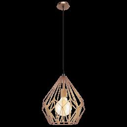 Aanbieding 49258 Eglo Carlton Vintage hanglamp