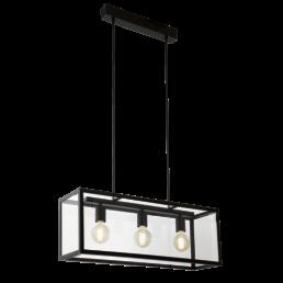 Aanbieding 49393 Charterhouse Vintage Eglo hanglamp