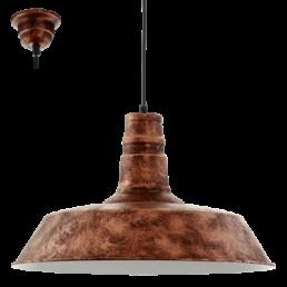 SALE 49397 Vintage Somerton 1 Eglo hanglamp