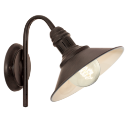 49458 Eglo Stockbury Vintage wandlamp beige