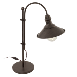 49459 Eglo Stockbury Vintage vloerlamp beige