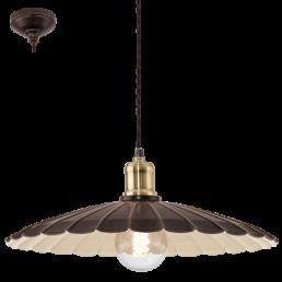 49462 Eglo Hemington Vintage hanglamp zwart