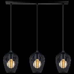 49478 Eglo Newtown Vintage hanglamp zwart