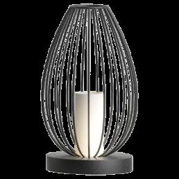 49481 Eglo Newtown Vintage tafellamp zwart