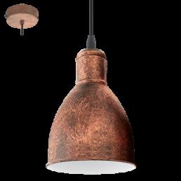 49492 Eglo Priddy 1 Vintage hanglamp