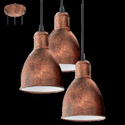 Aanbieding 49493 Priddy 1 Vintage Eglo hanglamp