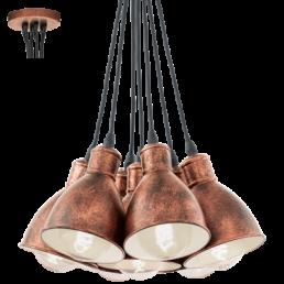 Aanbieding 49494 Priddy 1 Vintage Eglo hanglamp