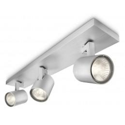 Nieuw, incompleet Philips myLiving Runner 530934816 plafondlamp alu