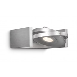 Philips Ledino Particon 531504816 led wandlamp alu