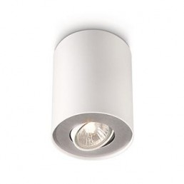Aanbieding  Philips myLiving Pillar 563303116 plafondlamp wit