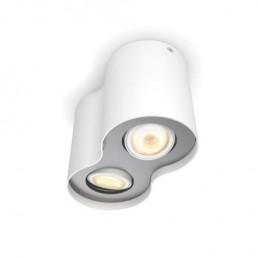 5633231P7 Philips Pillar Hue wit 2-lichts plafondspot