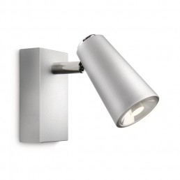 Aanbieding Philips Ledino Deltys 56460/48/16 led wandlamp zilvergrijs