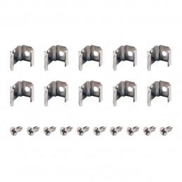 631523 SLV montageclips voor delf d hoek 45gr, 10 stuks