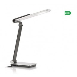 Aanbieding Philips EyeCare Pivot 674218716 led bureaulamp grijs