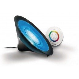 Philips Living Colors Aura Black 7099830PH tafellamp / vloerlamp