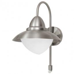 87105 Sidney met sensor Eglo wandlamp buitenverlichting