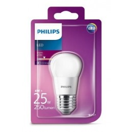 Philips LED Kogellamp E27 4W (25W) 2700K