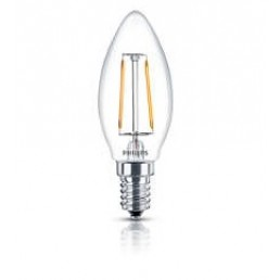 Philips LED filament lamp E14 2.3W (25W) kaars