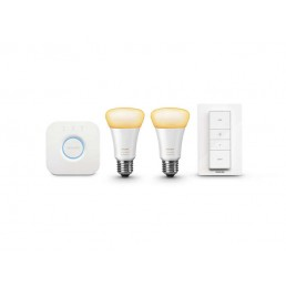 8718696548752 Philips Hue Ambiance Starter Pack E27 9.5W