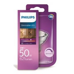 Philips LED lamp GU5.3 8W dimbaar 8718696571972