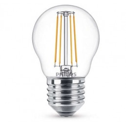 Philips LED filament lamp E27 4W (40W) kogel