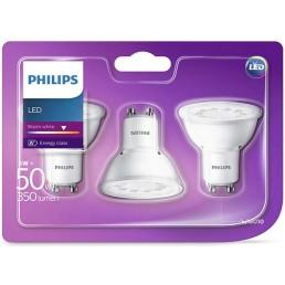 3-pack Philips Led spot GU10 5W (50W)
