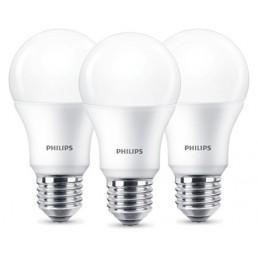 3-pack E27 led lamp Philips 13W (100W)