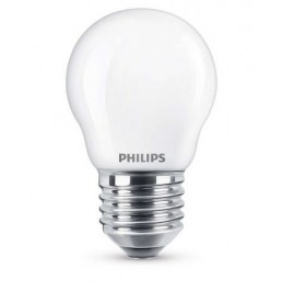 Philips LED kogellamp 2.2W mat 2700K
