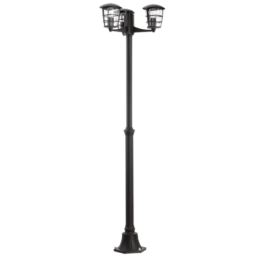 93409 Eglo Aloria zwart vloerlamp