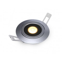 DecaLED 94505028 Flexo-R Silver 10W Downlight