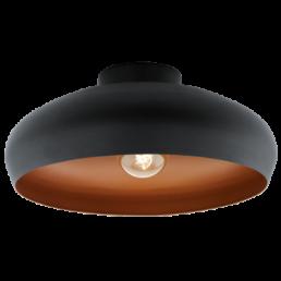 94547 Eglo Mogano Vintage plafondlamp zwart