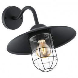 94792 Eglo Melgoa zwart wandlamp