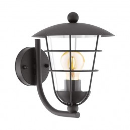 94834 Eglo Pulfero Zwart wandlamp
