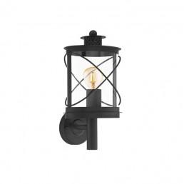 94842 Eglo Hilburn Zwart wandlamp