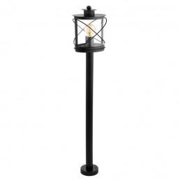 94844 Eglo Hilburn Zwart vloerlamp