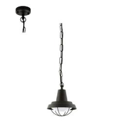 SALE 94861 Eglo Colindres 1 zwart hanglamp