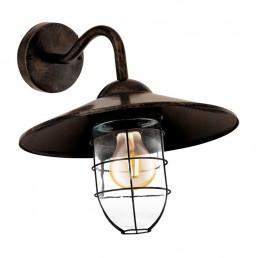 94863 Eglo Melgoa koper wandlamp