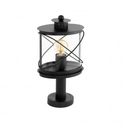 94864 Eglo Hilburn Zwart vloerlamp
