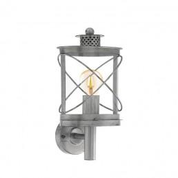 94865 Eglo Hilburn 1 zilver wandlamp
