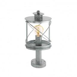 94867 Eglo Hilburn 1 zilver vloerlamp