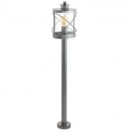 94868 Eglo Hilburn 1 zilver vloerlamp