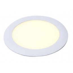 Aanbieding DecaLED 95106238 Panel Round White 11W Downlight