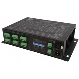 Aanbieding DecaLED 95312351 High Power DMX Controller TV + Control PanelDMX distrbutor + Colorbeam 12 (set)