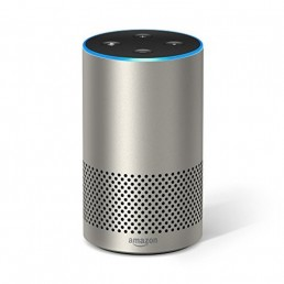 Amazon Echo (2nd Generation) with improved sound silver