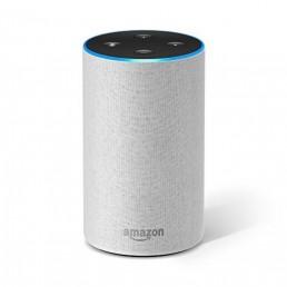 Amazon Echo (2nd Generation) with improved sound Sandstone Fabric